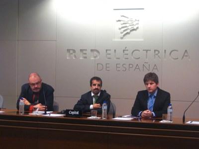 Ferran Silva, Jordi Caus y Frederic Clarens