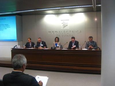 Justo Jimenez, Josep Barbeta, Ana Ingebrand, David Huguet y Luis Romeral