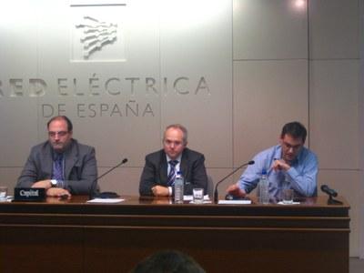 Joan Fontanilles, Alfonso Collado y Juan Antonio Ortega